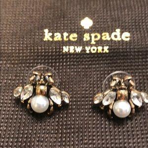 Kate spade New York bumblebee earrings